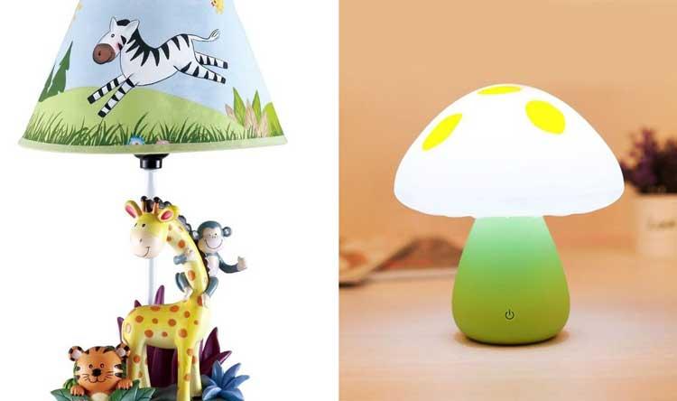انتخاب چراغ خواب مناسب برای اتاق نوزاد