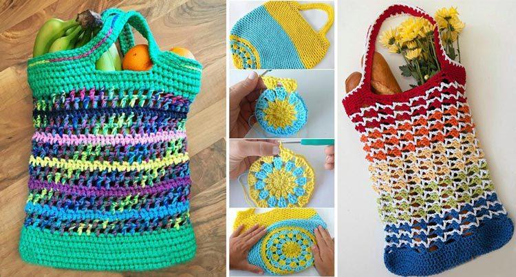 ساک بافتنی جایگزین مناسب کیسه های پلاستیکی در خرید