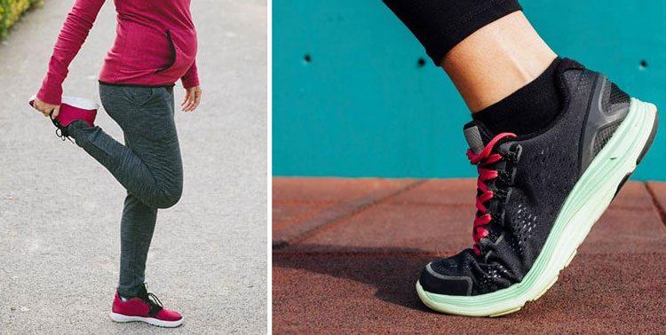 کتانی ورزشی مناسب پیاده روی در بارداری