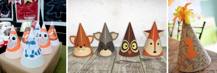 کلاه باغ وحشی برای تولد کودکان