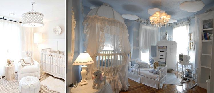 نورپردازی مناسب برای اتاق نوزاد