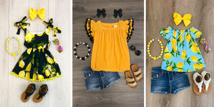 لباس تابستانی خنک دخترانه