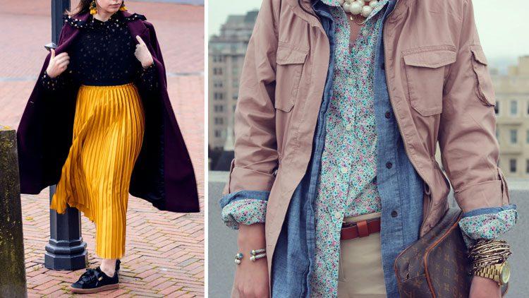 مدل لباس برای افراد قد کوتاه-لایه ای بپوشید