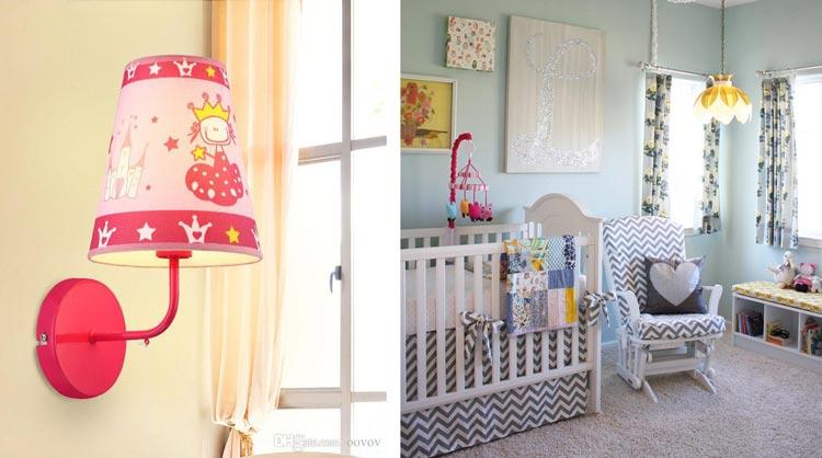 نورپردازی مناسب اتاق نوزاد
