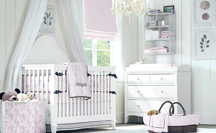 نورپردازی طبیعی در اتاق خواب نوزاد