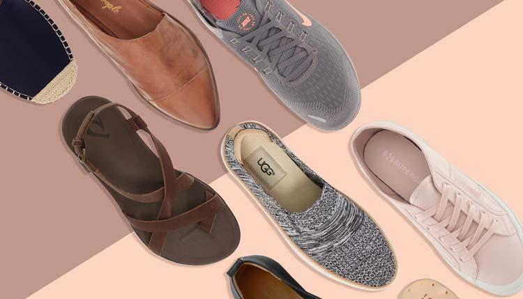 انواع مدل کفش مناسب دوران بارداری