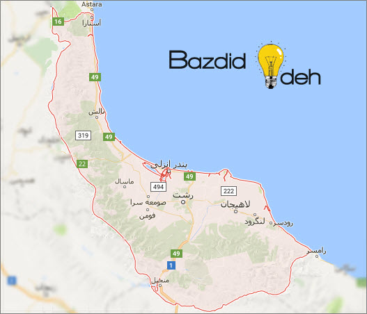 map bazdidideh - تماس با ما