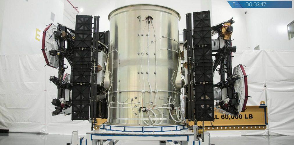 SpaceX's test satellite