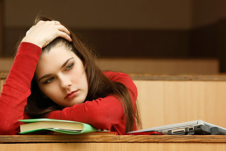 افسردگی تحصیلی در خارج
