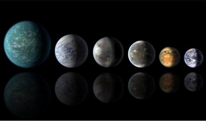 سیاره های مشابه زمین