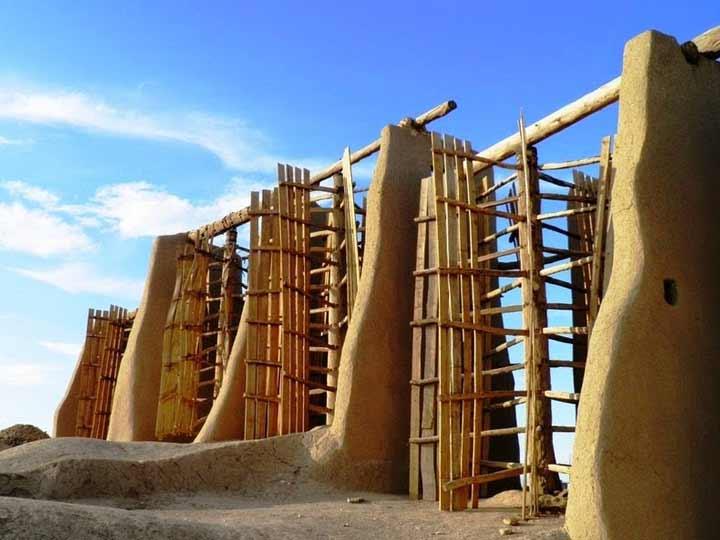 آسیابهای بادی قدیمی روستای نشتیفان