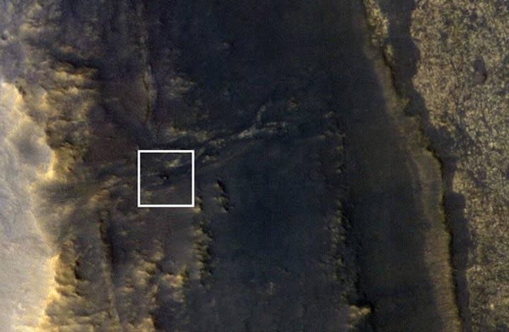 دوربین هایرایز مدارگرد شناسایی مریخ