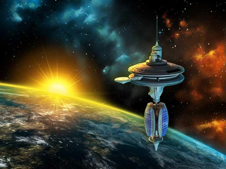 نخستین کشور فضایی جهان