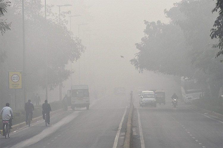 آلودگی هوای دهلی نو
