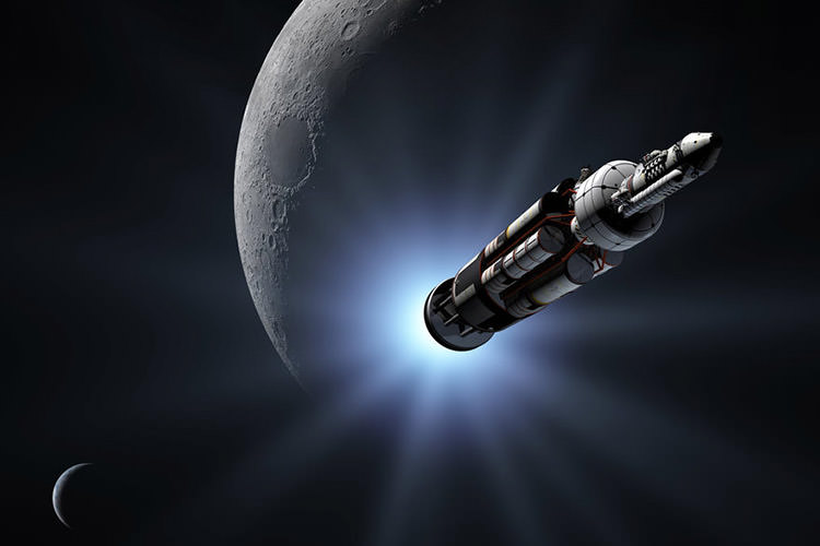 فضاپیمای اتمی اوراین / Orion Atomic Spacecraft