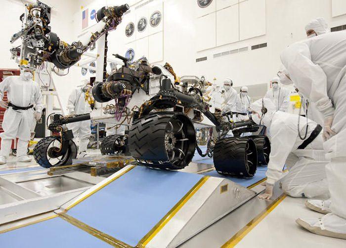 استریل سازی فضاپیما