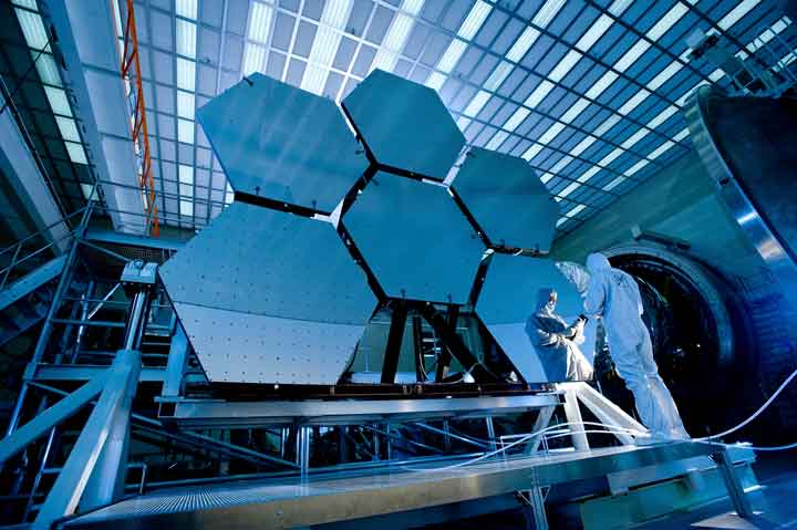 بزرگترین تلسکوپ فضایی جهان