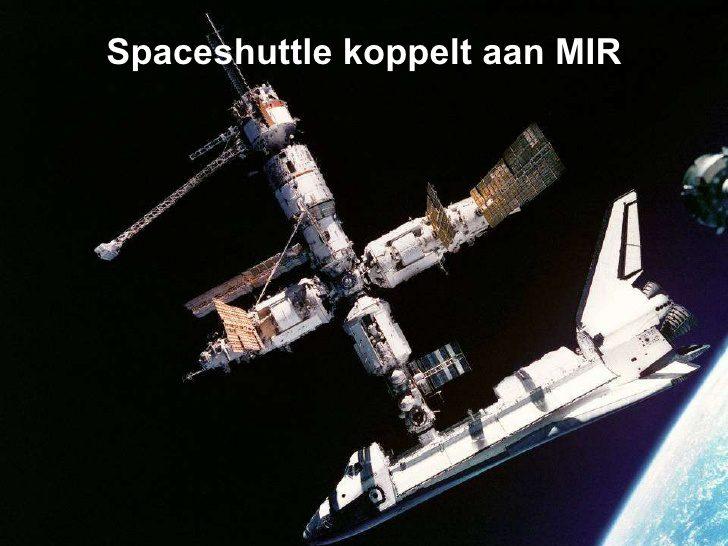 ایستگاه فضایی میر و شاتل فضایی