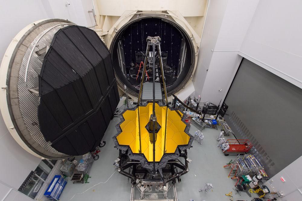 تلسکوپ جیمز وب / james webb