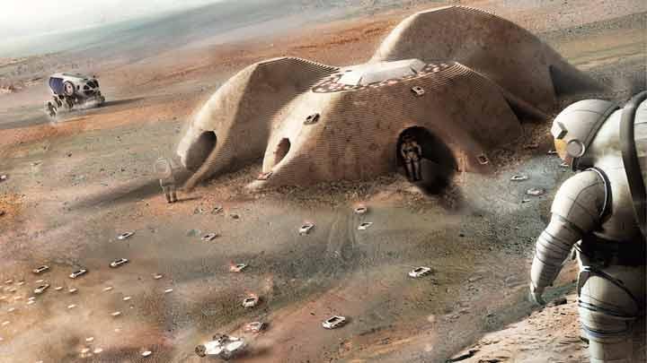کلون سازی مریخ