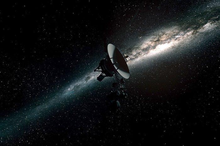 وویجر در کهکشان راه شیری