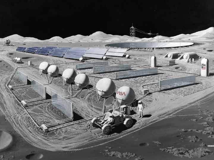 رصدخانههای مستقر در ماه