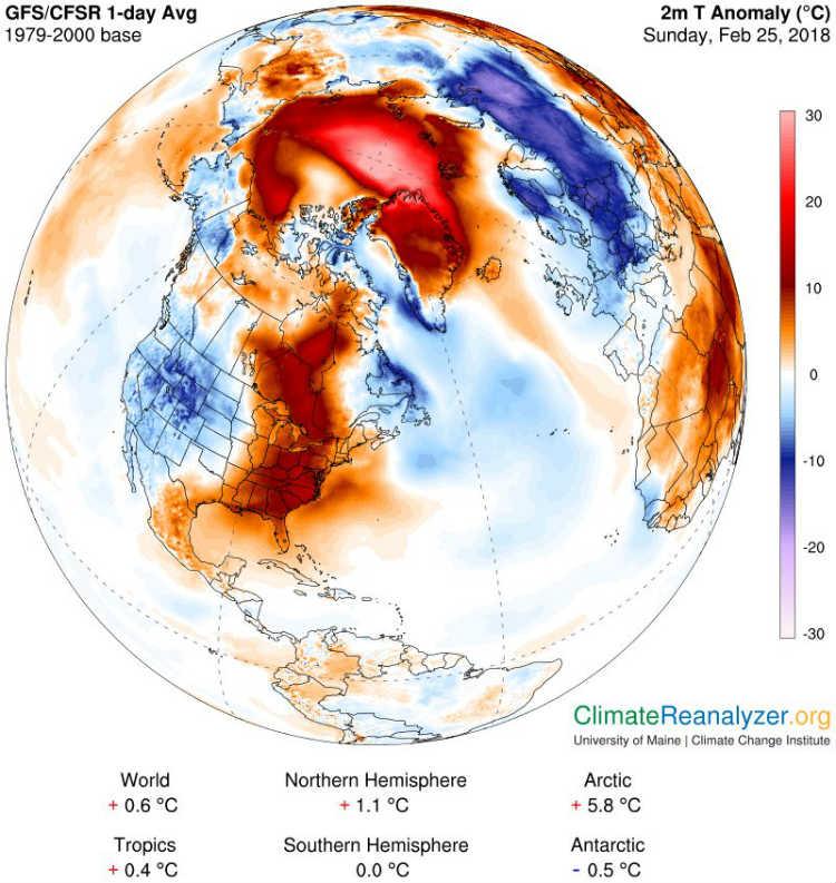 نقشه آب و هوایی
