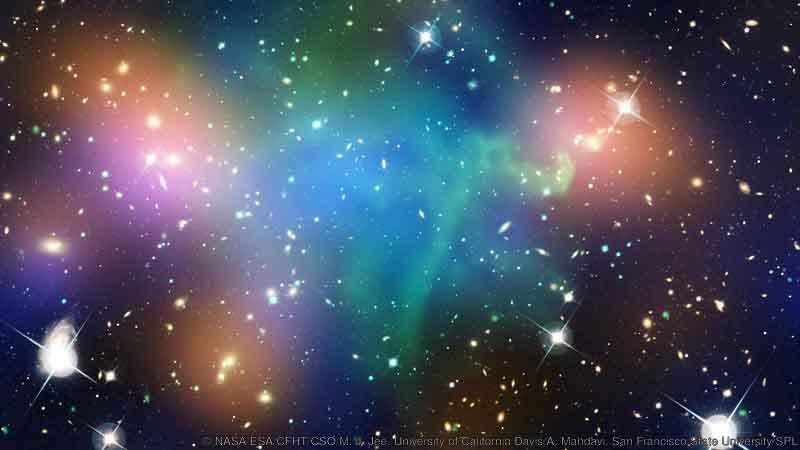 کهکشان مملو از ماده تاریک
