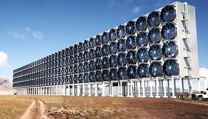 جذب مستقیم کربن از هوا/DAC