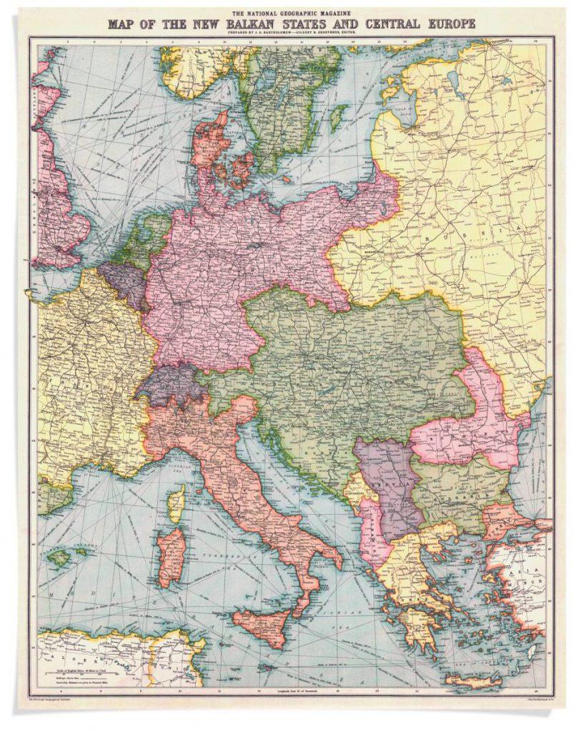 Map of New Balkan
