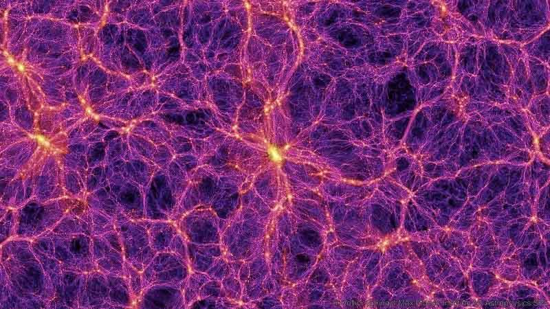 نقشهی ماده تاریک