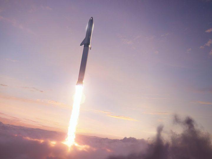 پرتاب موشک فالکون بزرگ (BFR)