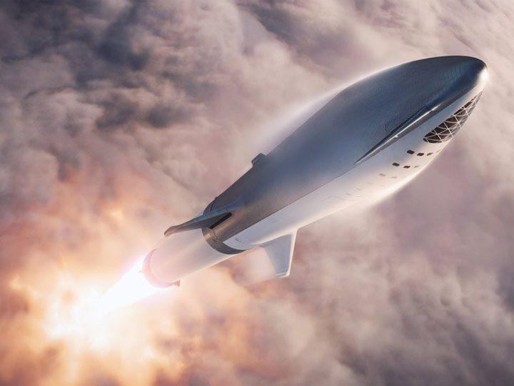 فضاپیمای فالکون بزرگ (BFR)