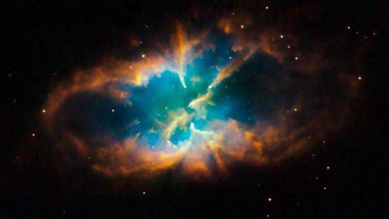 لایه بیرونی گازی ستاره در شرف مرگ