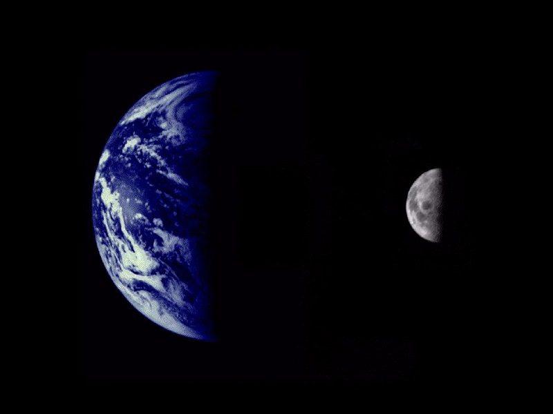 مارینر ۱۰ تصویر زمین
