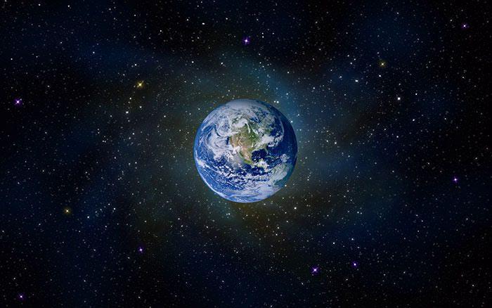 نمای زمین از فضا
