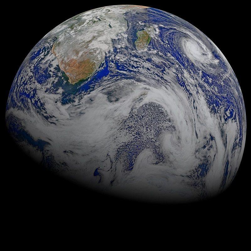 تصویر زمین از فضا NPP