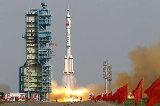 راکت فضاپیمای شنژو 9