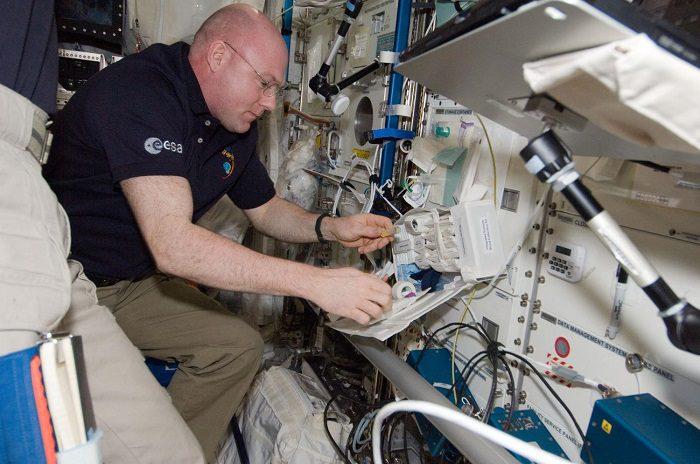 فضانورد ایستگاه فضایی بین المللی