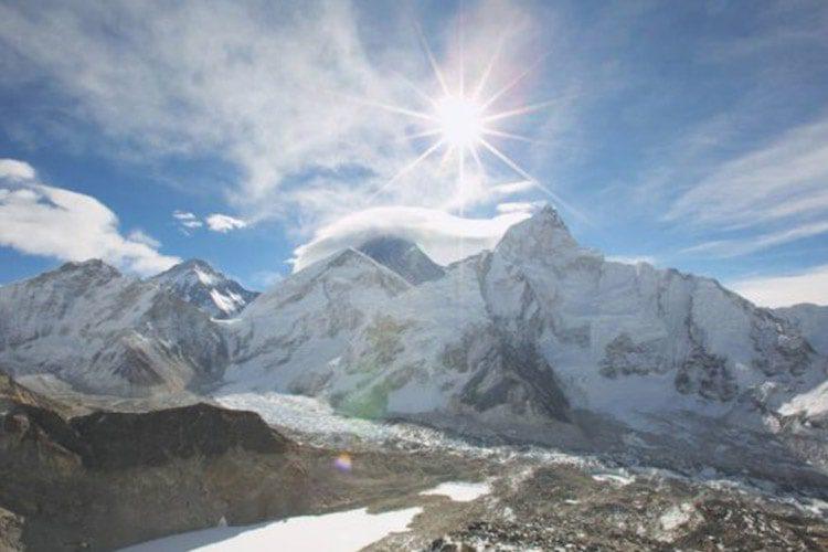 کشف یخ گرم در مرتفعترین یخچال طبیعی جهان