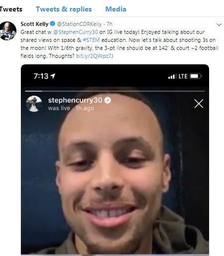 توییت اسکات کلی، فضانورد سابق ناسا