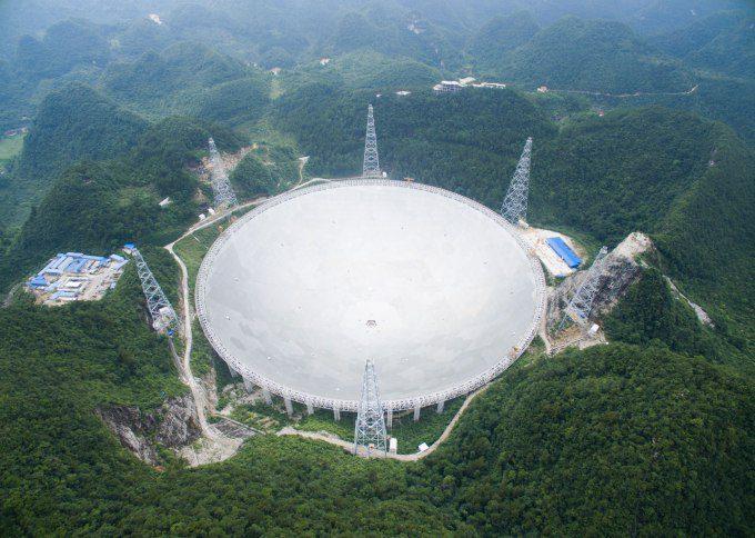 بزرگترین رادیوتلسکوپ دنیا