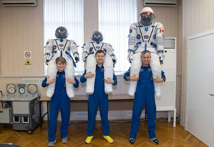 Expedition 58 Crew