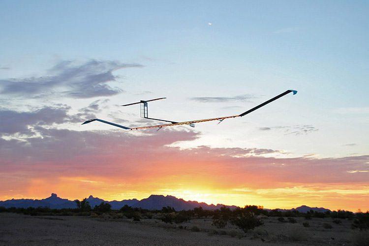 هواپیمای خورشیدی زفیر / Zephyr Solar Plane