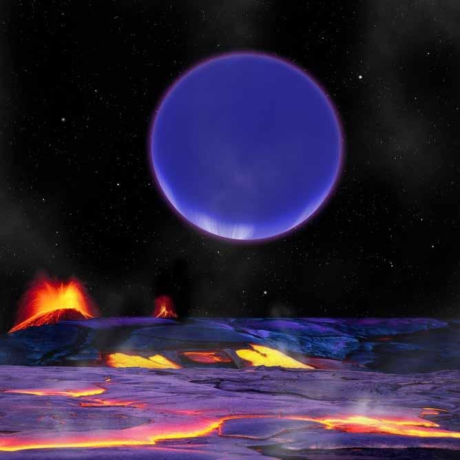 a68cf تصویر فرضی سیارههای کپلر