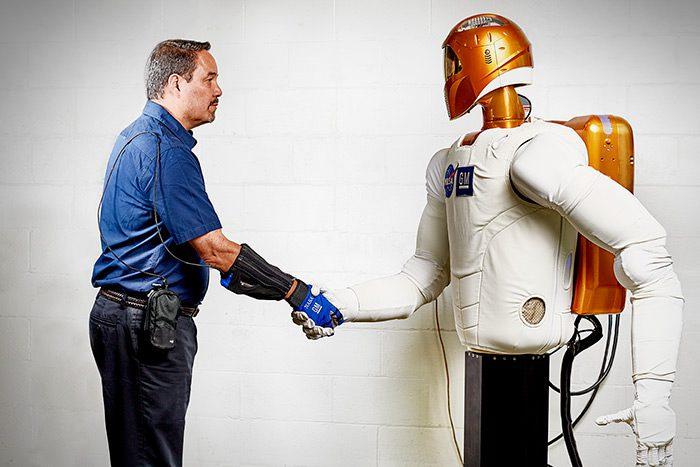 دستکش روباتیک جنرال موتورز