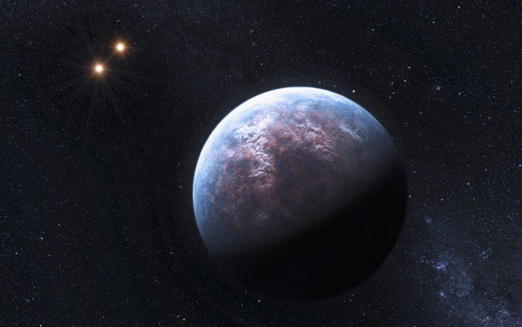 زمین و سیستم trappist-1
