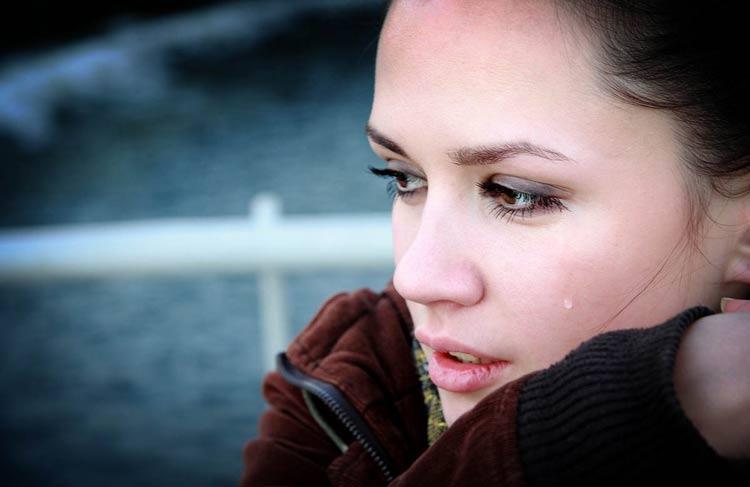 گریه در زنان