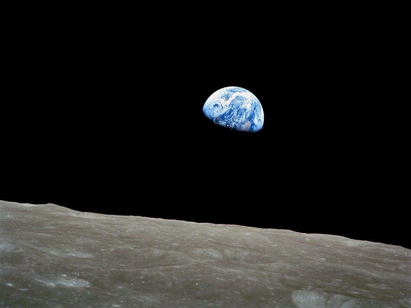 تصویر زمین توسط سرنشین آپولو