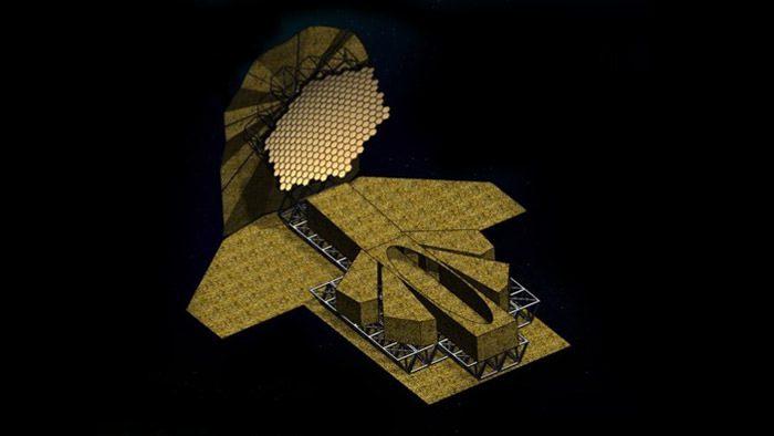 طرح مفهومی تلسکوپ